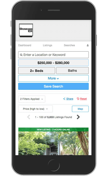 showcase-idx-mobile