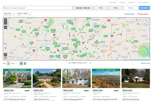IDX Features for Broker Agents and Brokers: User-Friendly Property Search